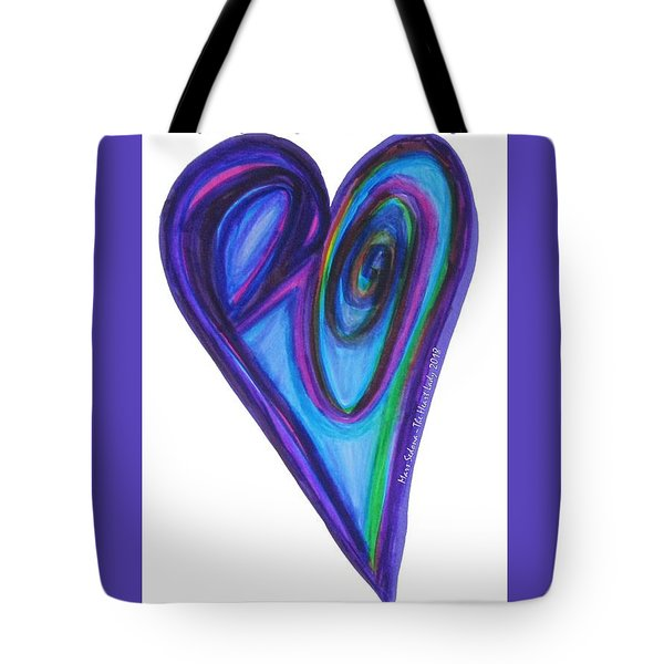 Zen Hearts Eclipse Eve Tote Bag