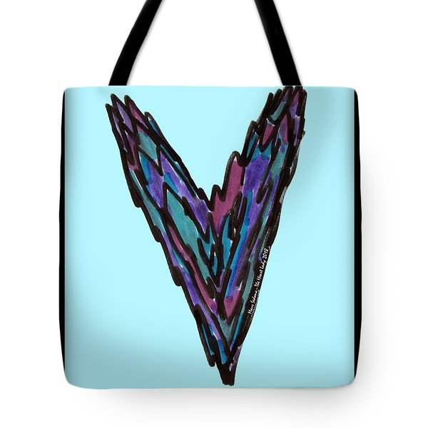 Zen Hearts In Betweens Tote Bag