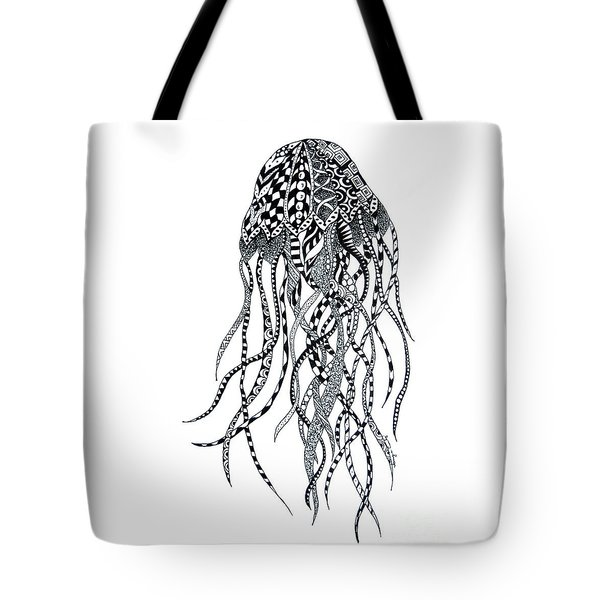 Zen Jellyfish Tote Bag