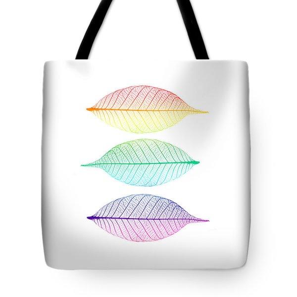 Zen Leaves Tote Bag