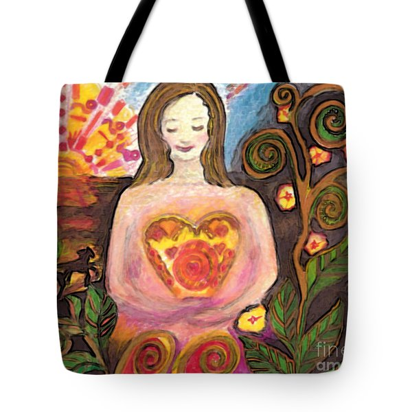 Zen Morning Tote Bag