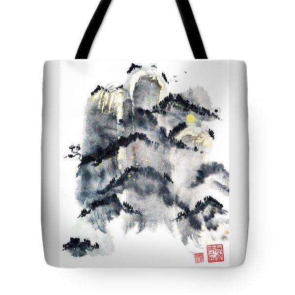 Zen Rising Tote Bag