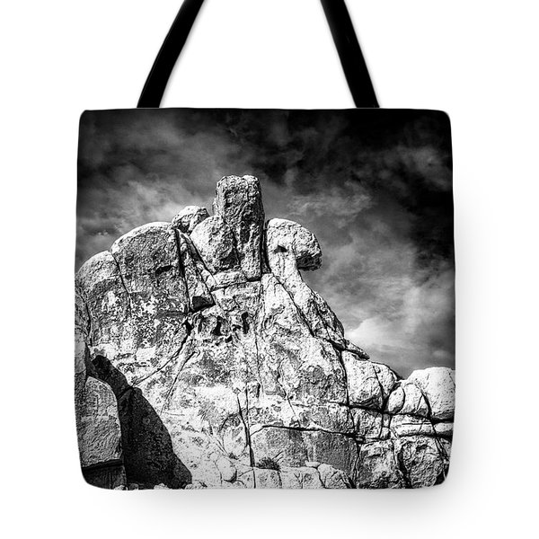 Zen Rocks II Bw Tote Bag