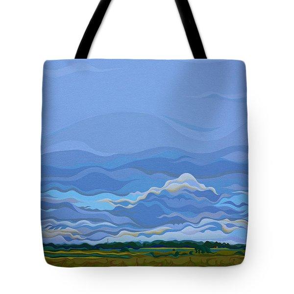 Zen Sky Tote Bag