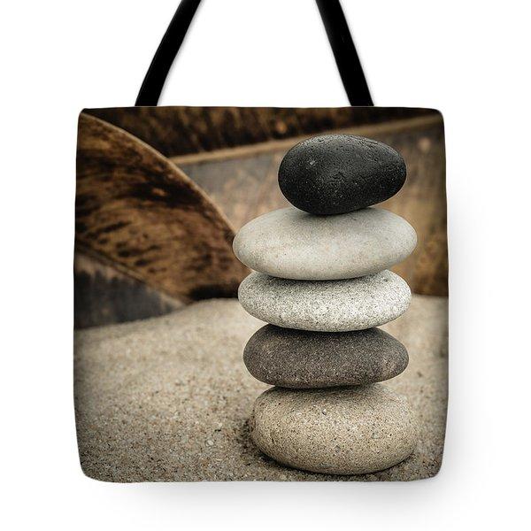 Zen Stones IIi Tote Bag by Marco Oliveira