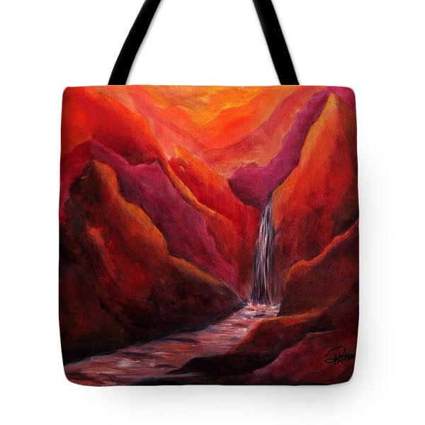 Zen  Where One Is At Peace Tote Bag