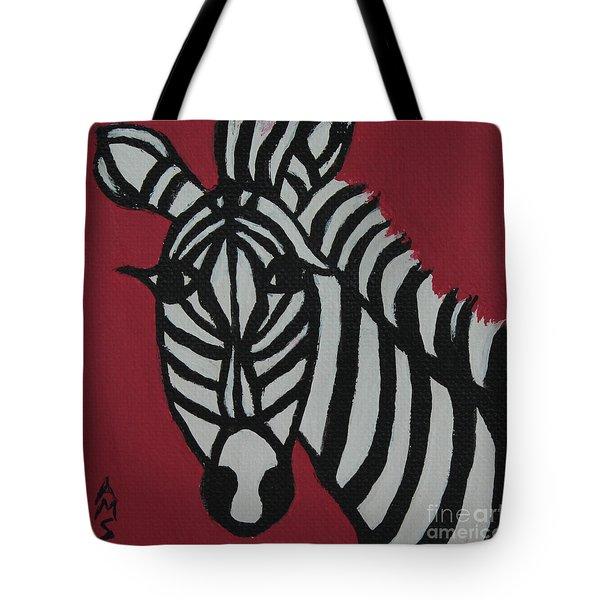Zena Zebra Tote Bag
