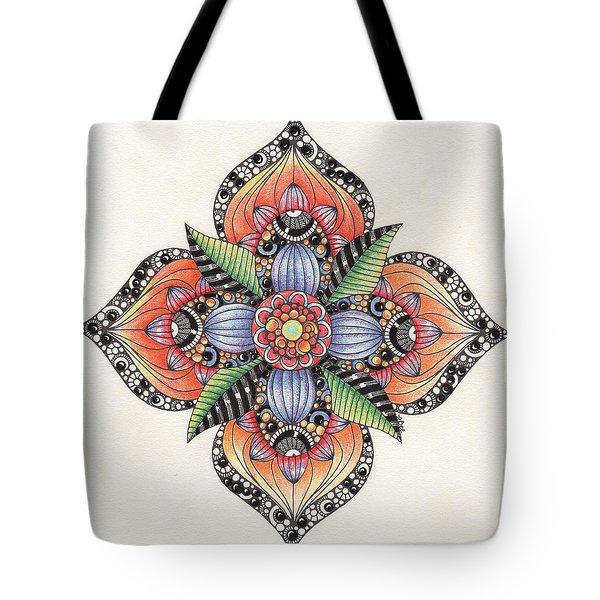 Zendala Template #1 Tote Bag