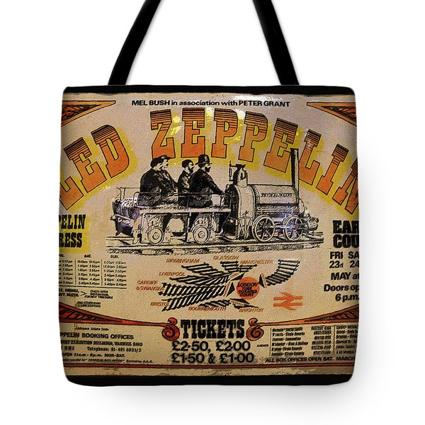 Zeppelin Express Tote Bag by David Lee Thompson