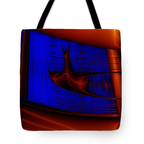 Tote Bag featuring the digital art Zestbackle by Andrew Kotlinski