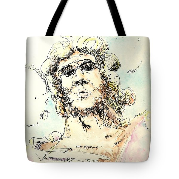Zeus Tote Bag by Dave Martsolf