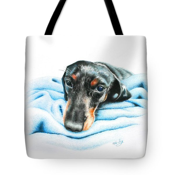 Tote Bag featuring the drawing Zeus by Mike Ivey