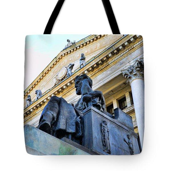 Zeus  Tote Bag by Paul Ward