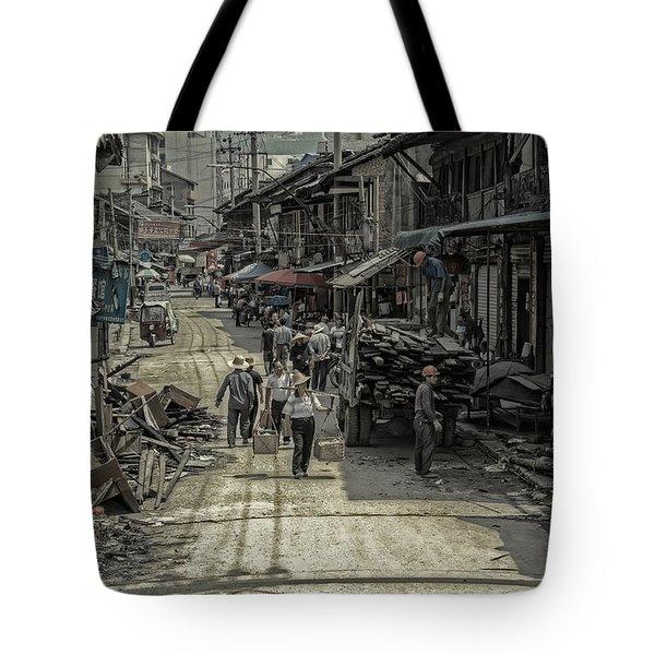 Zhangjiajie Ancient Town Tote Bag