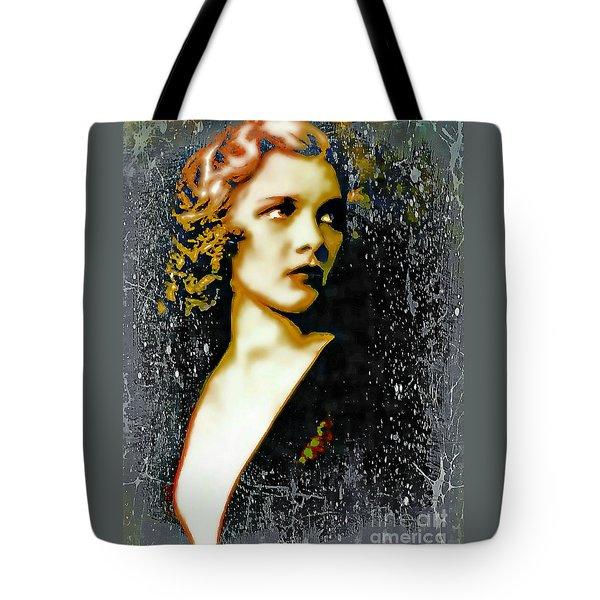 Ziegfeld Follies Girl - Drucilla Strain  Tote Bag