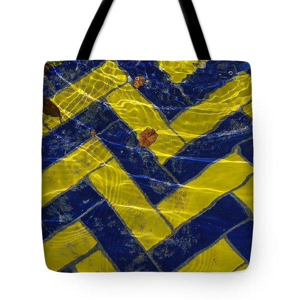 Zig Zag Tote Bag