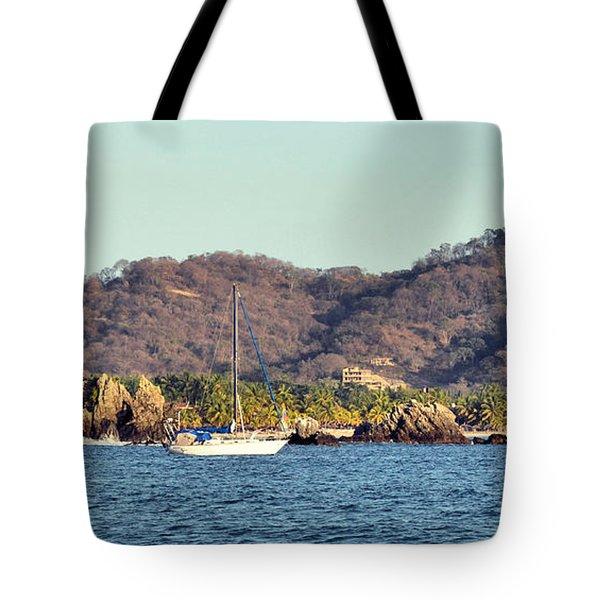 Zihuatanejo Bay Tote Bag