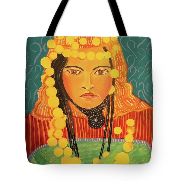 Zina Tote Bag by John Keaton