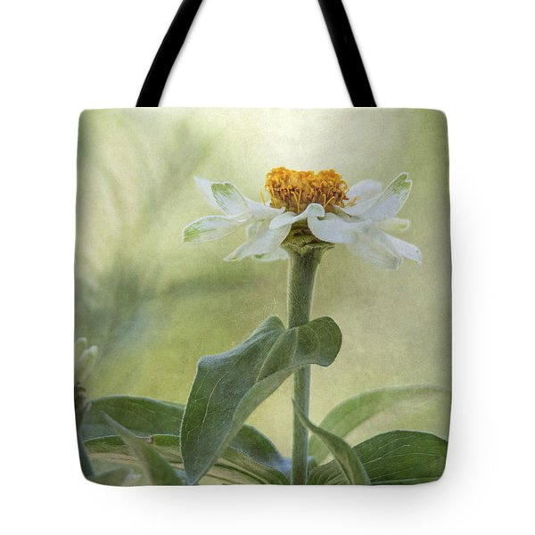 Zinnia Tote Bag by Angie Vogel