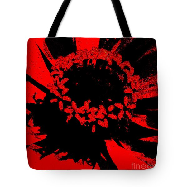 Tote Bag featuring the photograph Zinnia Crown by Jeanette French