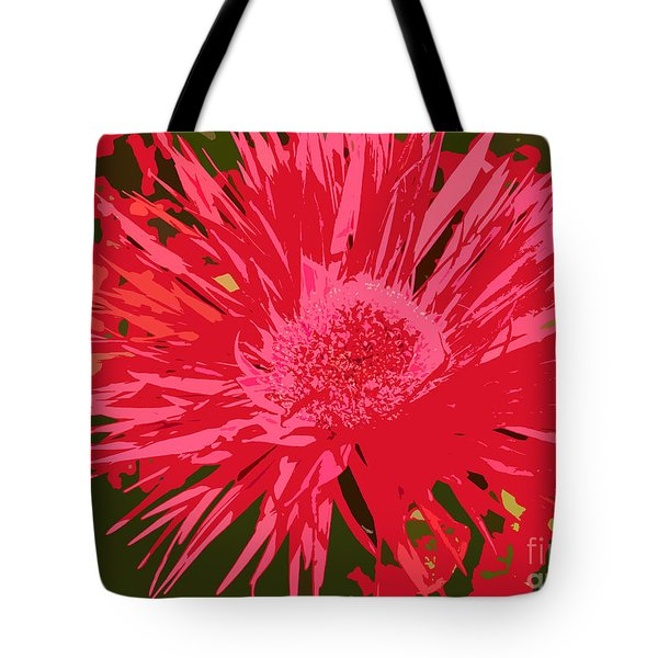 Tote Bag featuring the photograph Zinnia Party by Jeanette French