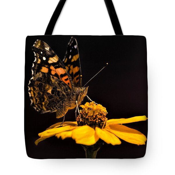 Zinnia Sipping Tote Bag