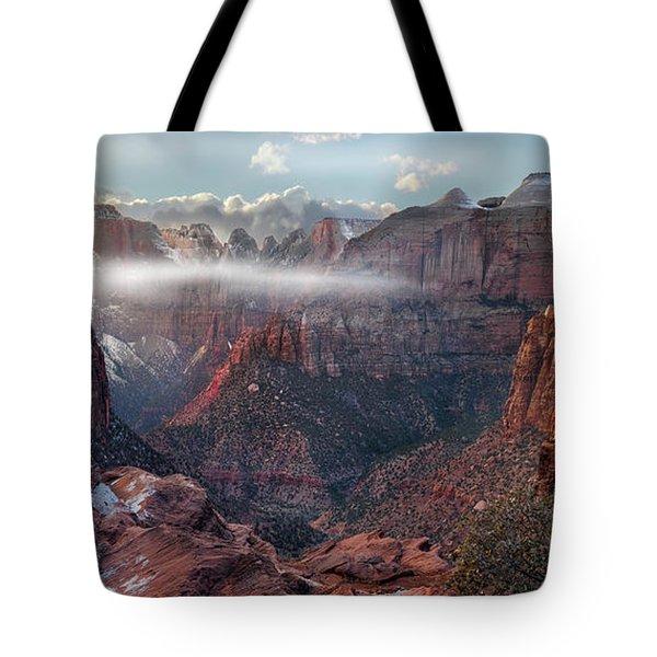 Zion Canyon Grandeur Tote Bag