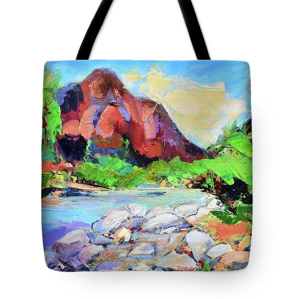 Zion Colors Tote Bag