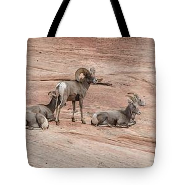 Zion Family Tote Bag