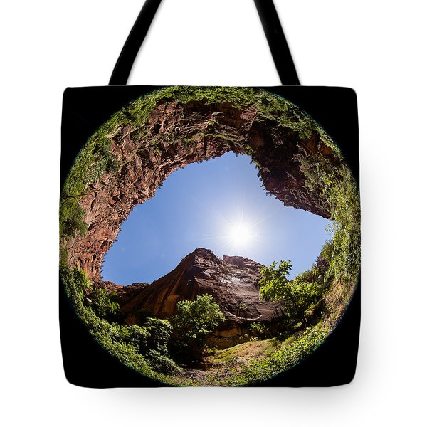 Zion Fisheye 1464 Tote Bag
