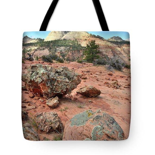 Zion Rock Garden Tote Bag