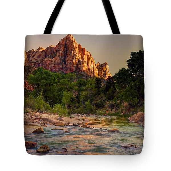 Zion Sunet Tote Bag