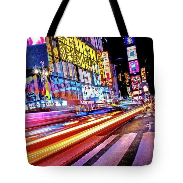 Zip Tote Bag by Az Jackson