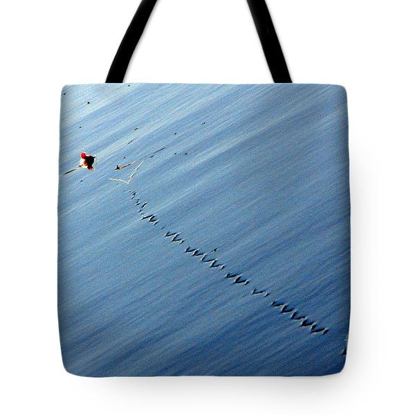 Zip Tote Bag by Priscilla Richardson
