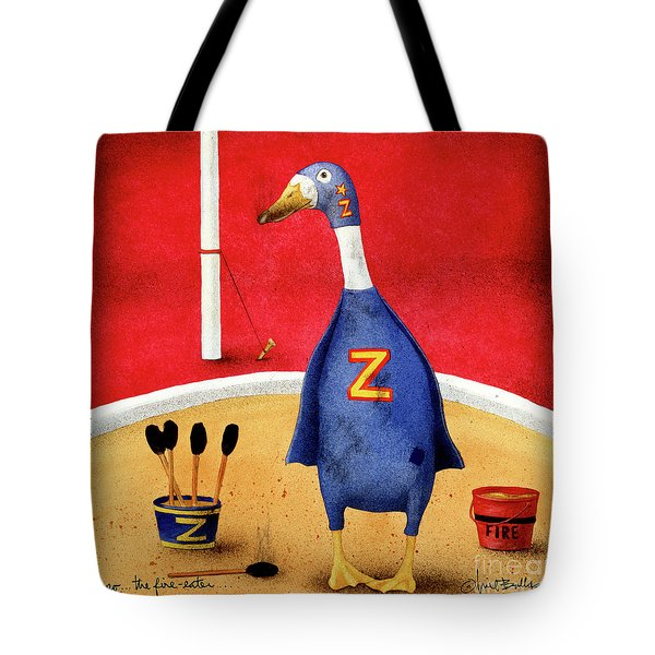 Zippo, The Fire-eater Tote Bag