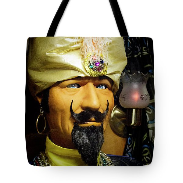 Tote Bag featuring the photograph Zoltar by Chuck Staley