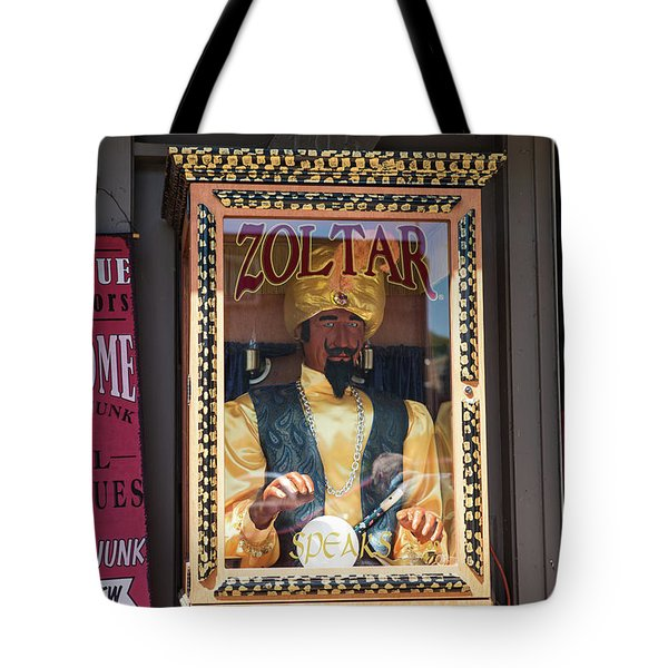 Zoltar Speaks Tote Bag