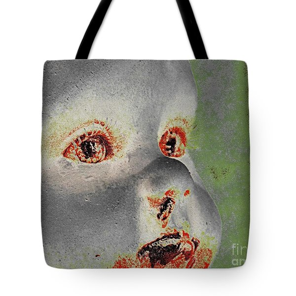Zombie Baby Four Tote Bag