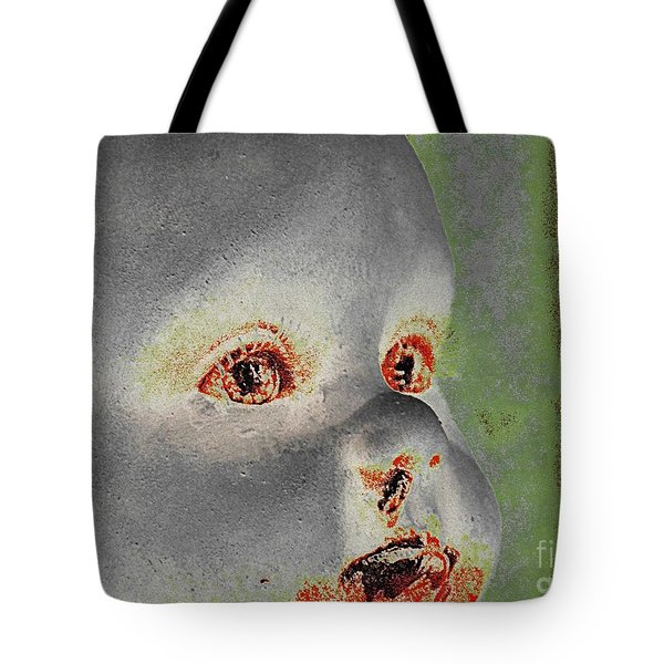 Zombie Baby Three Tote Bag