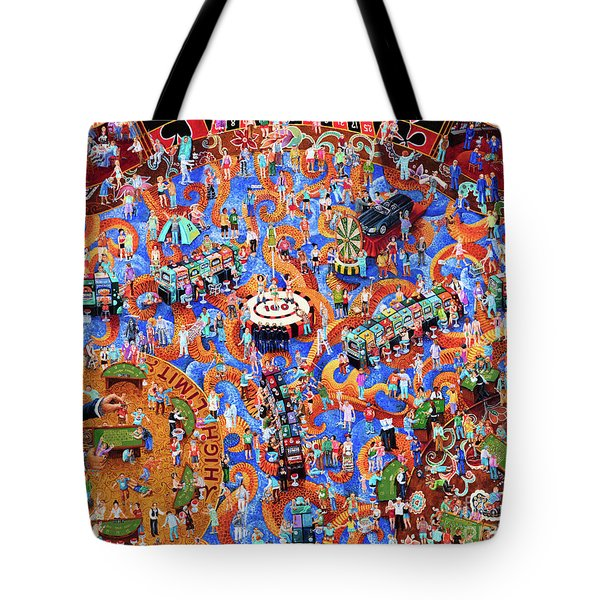Zombie Casino Tote Bag