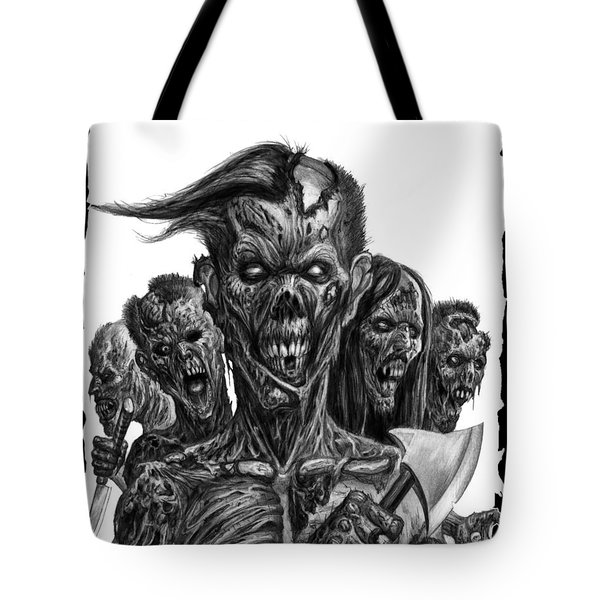 Zombies  Tote Bag by Tony Koehl