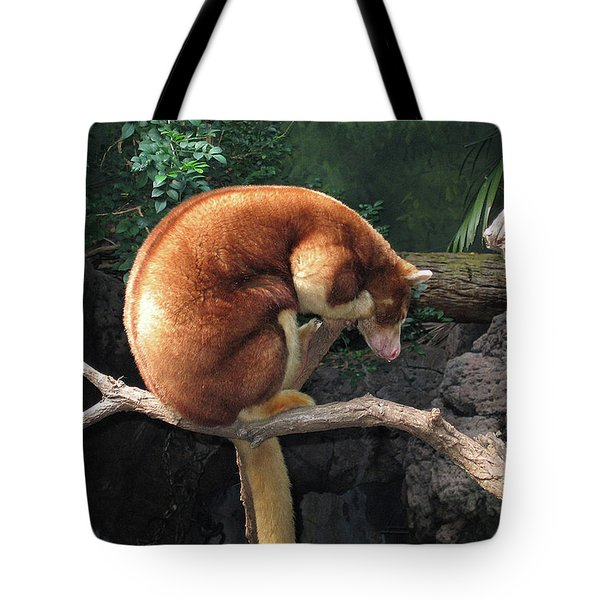 Tote Bag featuring the photograph Zoo Animal by Suhas Tavkar