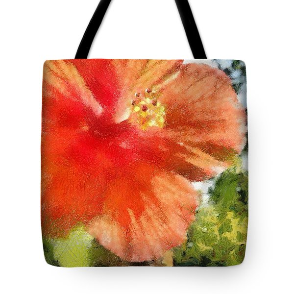 Zoo Flower Tote Bag by Jeffrey Kolker