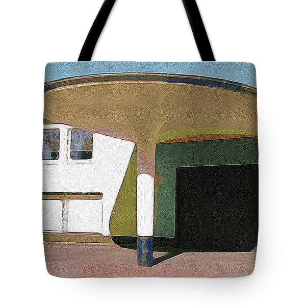 Zoo Garage, Cologne, Germany. Tote Bag