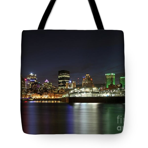 Zoom Montreal Tote Bag