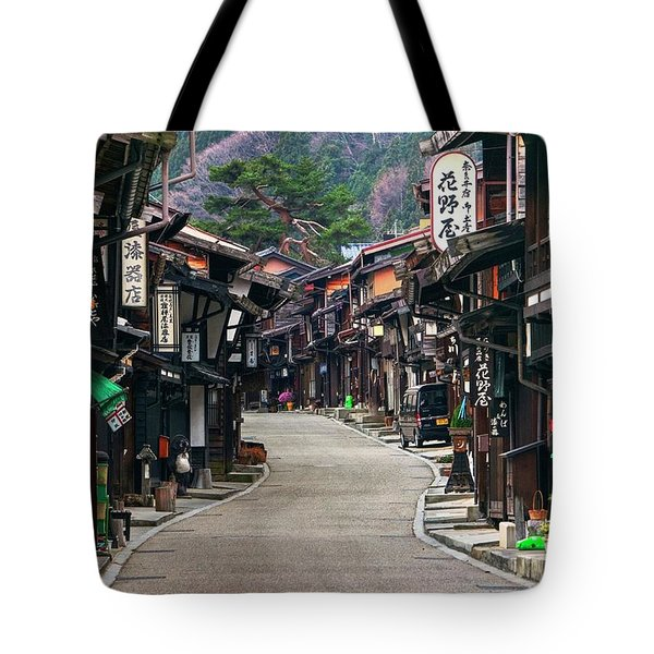 Tote Bag featuring the photograph Zooming Back To The Past by Peter Thoeny