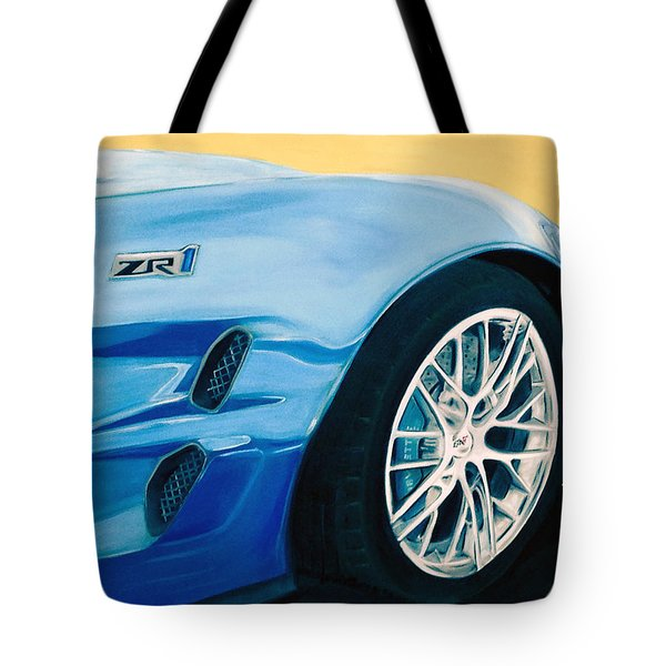 Zr1 Go Faster Tote Bag