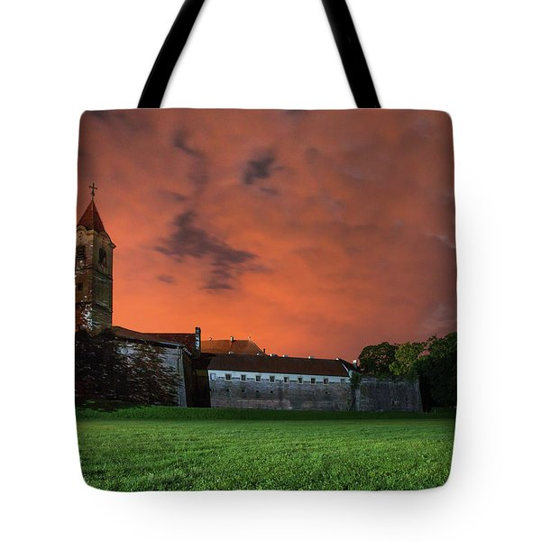 Tote Bag featuring the photograph Zrinskis' Castle 2 by Davor Zerjav