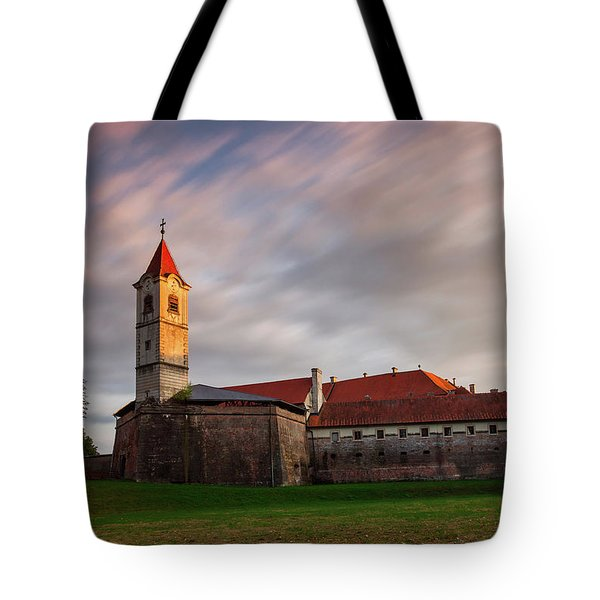Tote Bag featuring the photograph Zrinskis' Castle by Davor Zerjav