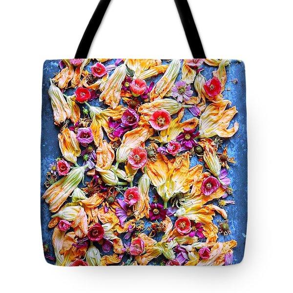 Zucchini Blossoms Season Tote Bag